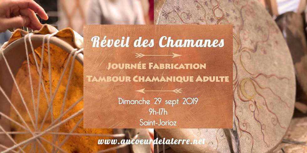 REVEIL DES CHAMANES: journée atelier fabrication tambour chamanique pour adulte 29/09