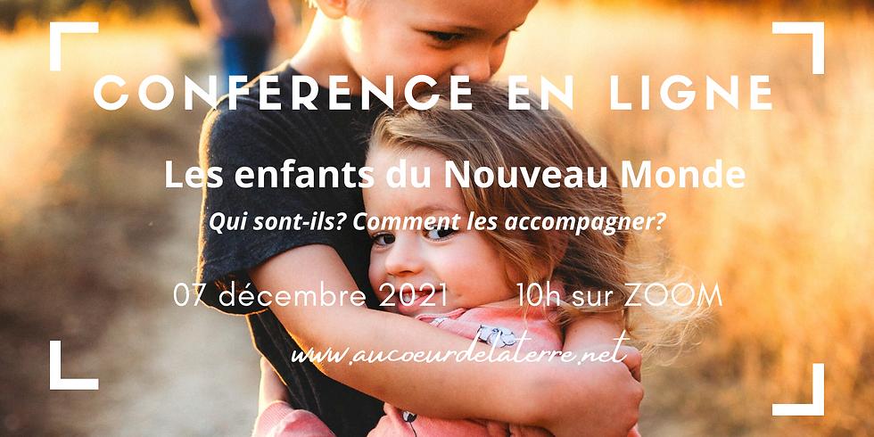 Conférence en ligne : Les enfants du Nouveau Monde