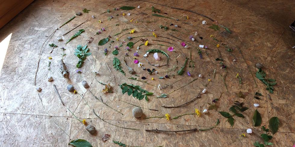 Atelier Mandala Nature 6-10 ans - 18 juillet 2018