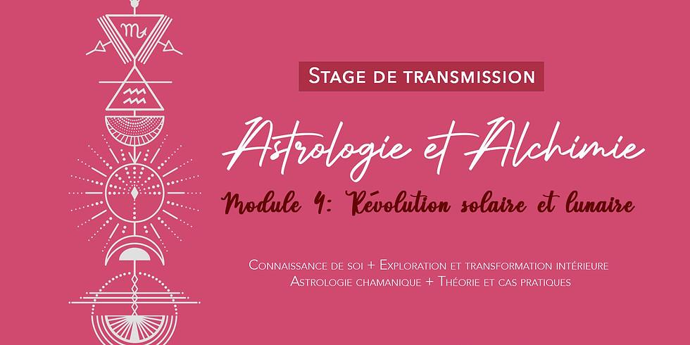 Stage de transmission: Astrologie et Alchimie / Révolution solaire lunaire