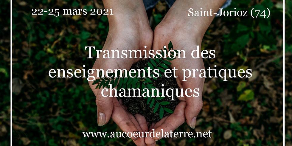 Transmission des enseignements et pratiques chamaniques
