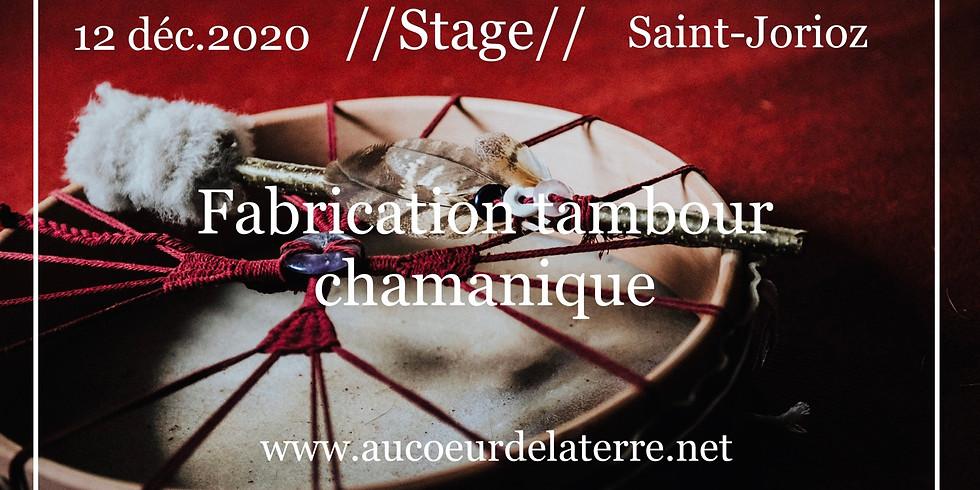 Réveil des chamanes: fabrication tambour chamanique adulte 12/12