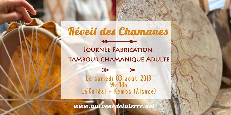 Réveil des chamanes- fabrication tambour chamanique (Alsace)