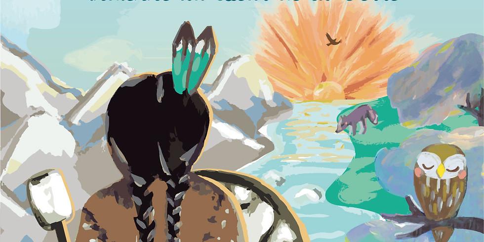 Spectacle: LEOA l'aventure d'une jeune indienne au coeur de la Terre (Conte sonore pour enfants) LA FABRIQUE DES BAUGES