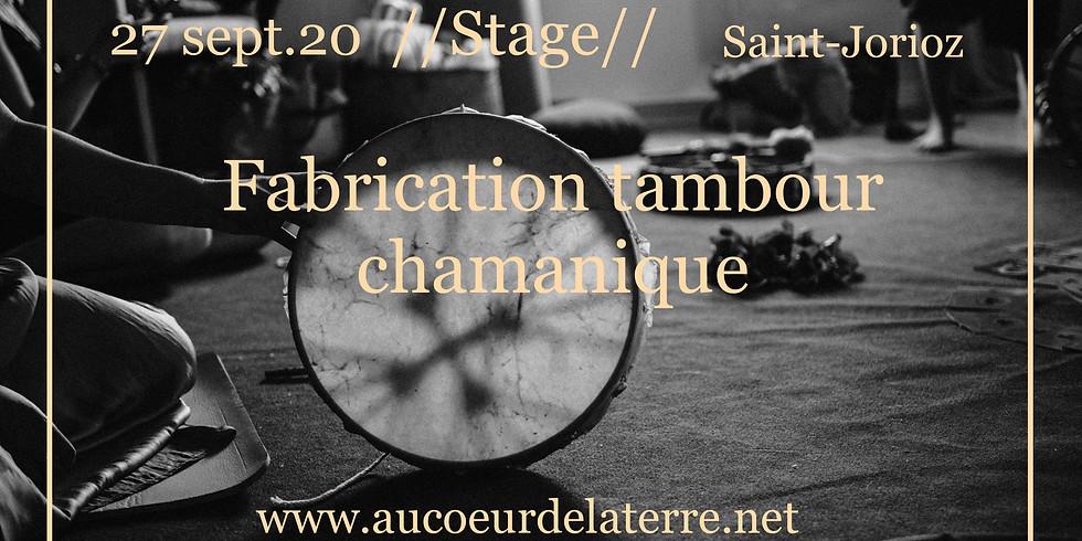Réveil des chamanes: fabrication tambour chamanique adulte 27/ 09