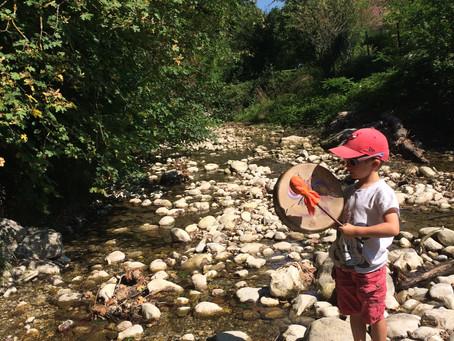 Le tambour chamanique pour les enfants