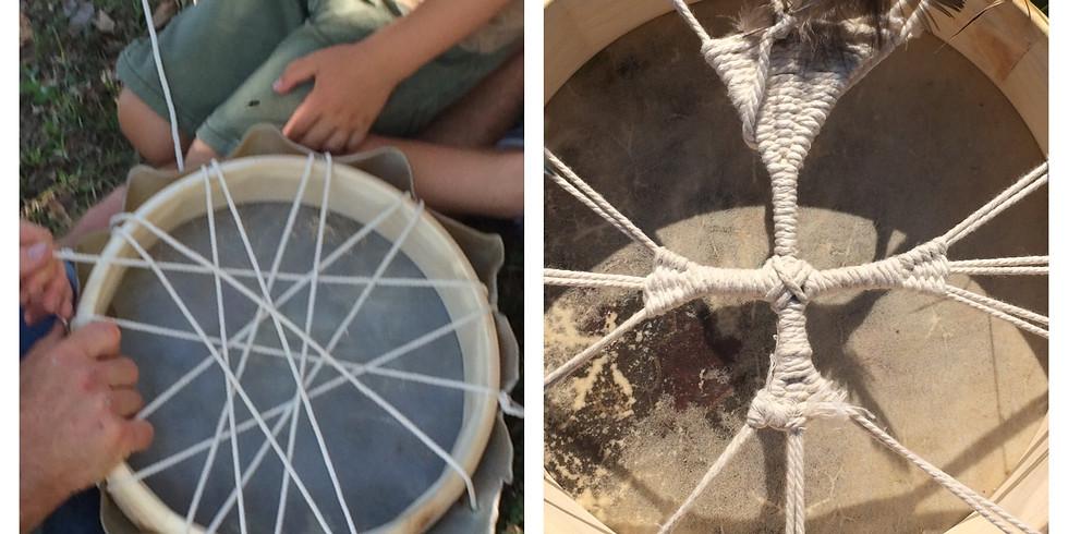 EVEIL DES PETITS CHAMANES: journée fabrication tambour chamanique pour enfants le 29/05