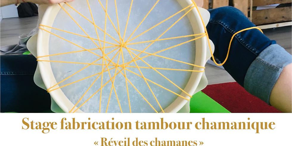 Réveil des chamanes: fabrication tambour chamanique adulte 12 07