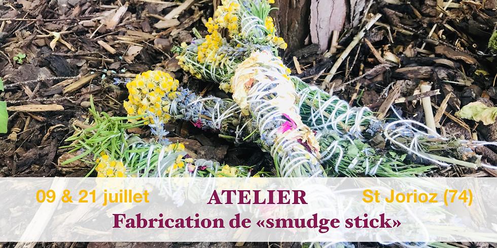 """Atelier fabrication """"smudge stick"""" pour rituel de purification 09 juillet"""