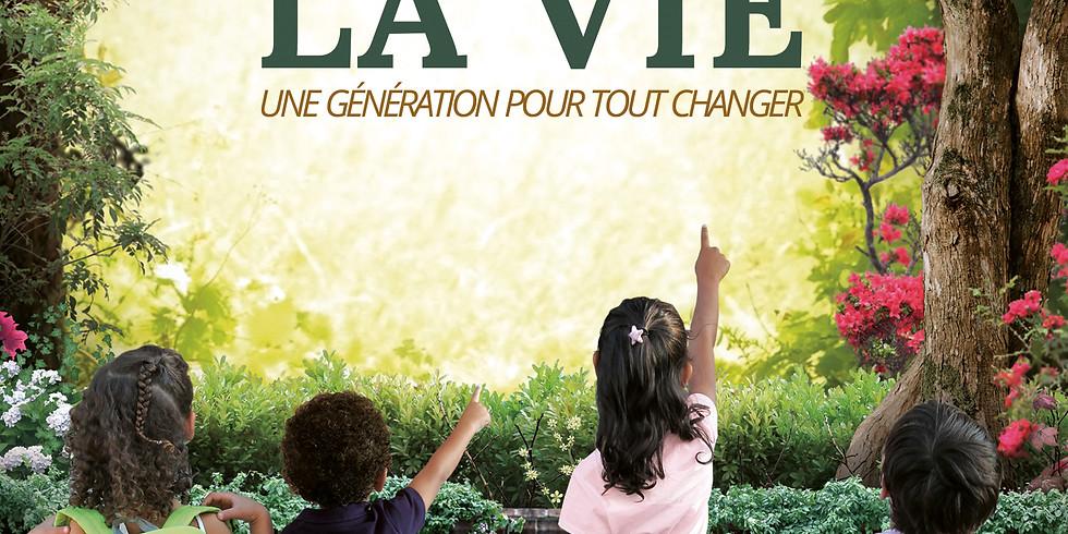 """Projection du film documentaire """"L'école de la Vie, une génération pour tout changer"""""""