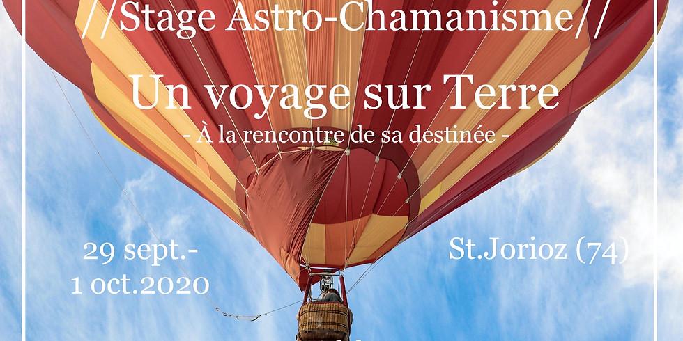 Stage Astro-Chamanisme: Un voyage sur la Terre