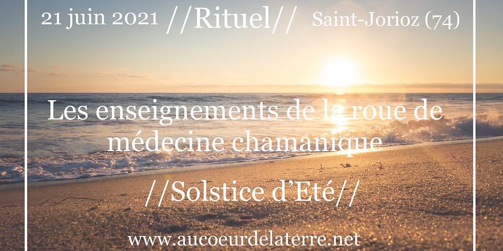 Les enseignements de la roue de médecine  / Solstice Eté
