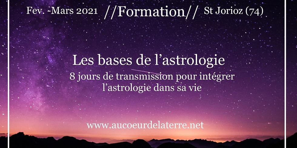 Formation: les bases de l'astrologie