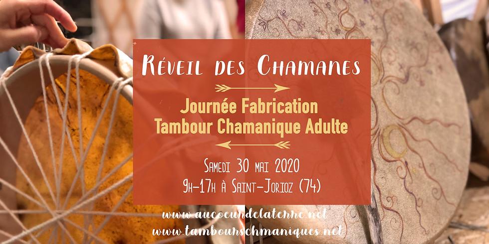 Réveil des chamanes: fabrication tambour chamanique adulte 30 05