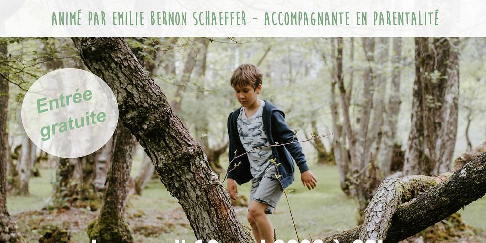 Conférence: L'enfant et la nature: pour une éducation plus verte!