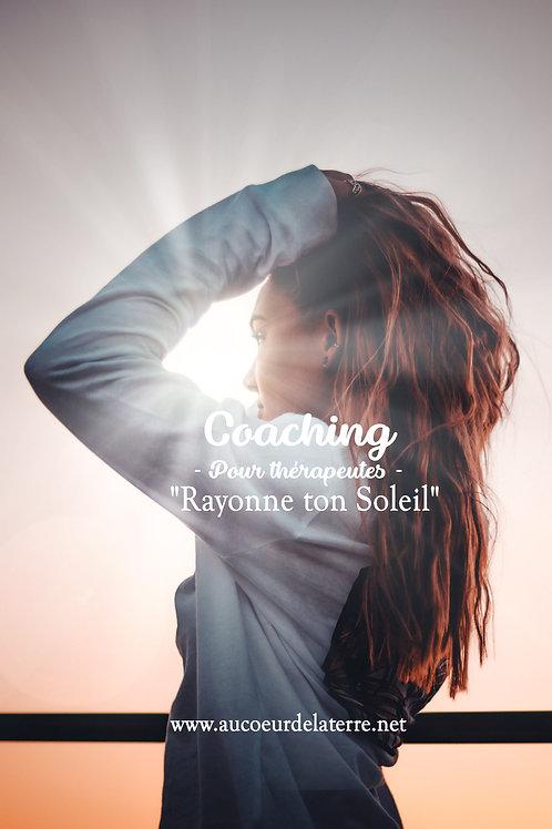 "Coaching thérapeute ""Rayonne ton soleil"""