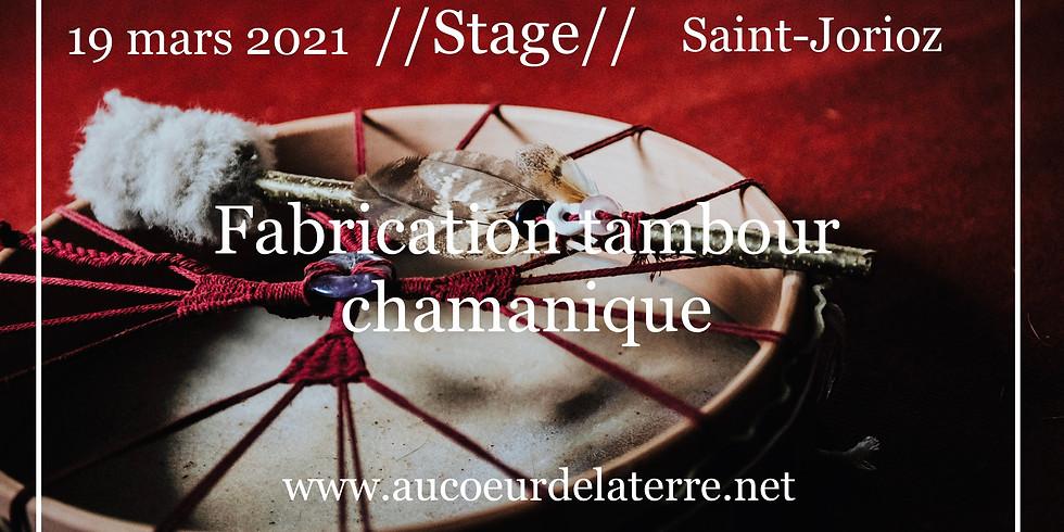 Réveil des chamanes: fabrication tambour chamanique adulte
