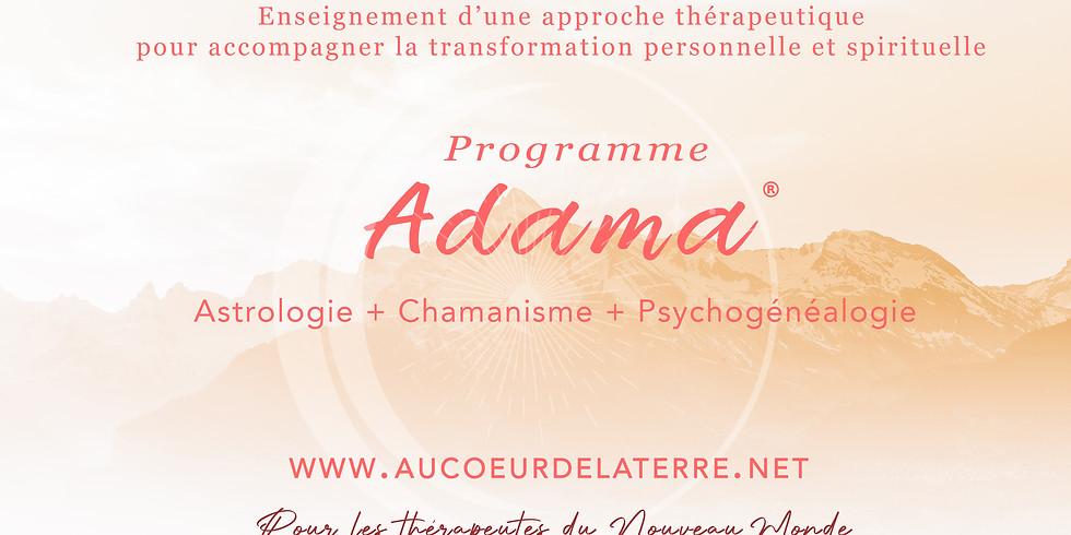 Réunion d'informations programme ADAMA