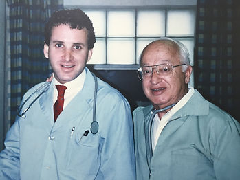Dr Jim and Dr Irwin Greenspon