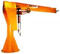 1,000 Lbs Heavy Duty Free Standing Jib Cranes 16' span 16' underboom