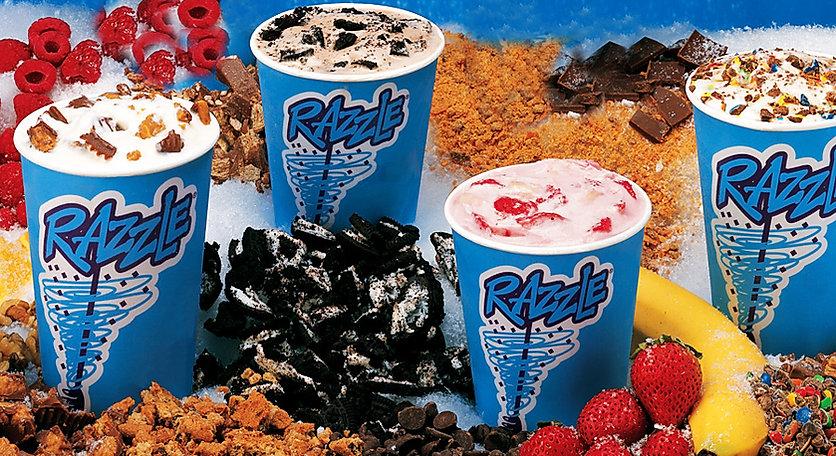 razzle milkshake machine