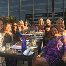 Julia Rose and Chicago SEO Lyfe team enjoying Chicagos foodie scene in the summer
