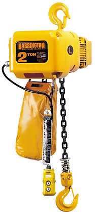 2 1/2 Ton Harrington Hook Mounted Hoists