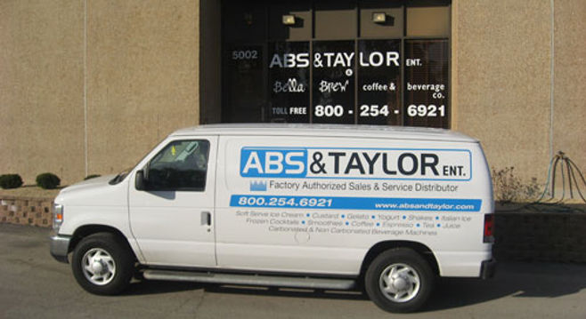 abs & talor service truck