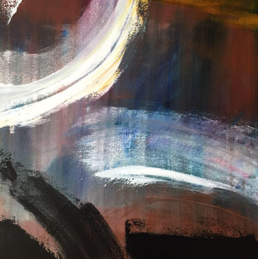 Abstract artwork by Artist Dan Manoogian