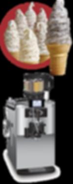 crunchi cream soft serve ice cream equipment