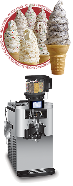 crunchi cream soft serve ice cream equipment