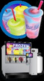 frozen carbonated beverage machine