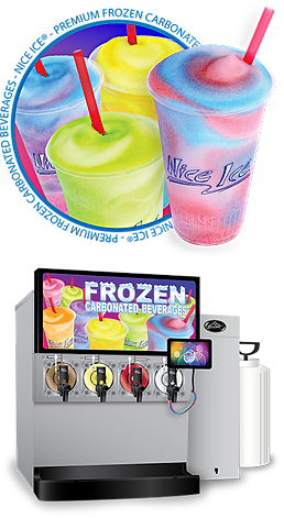 frozen carbonated beverage machine