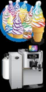 flavor burst soft serve ice cream equipment