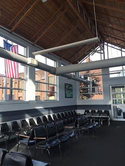 Lansing office waiting room