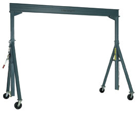6,000 lb.  Adjustable Gantry Crane