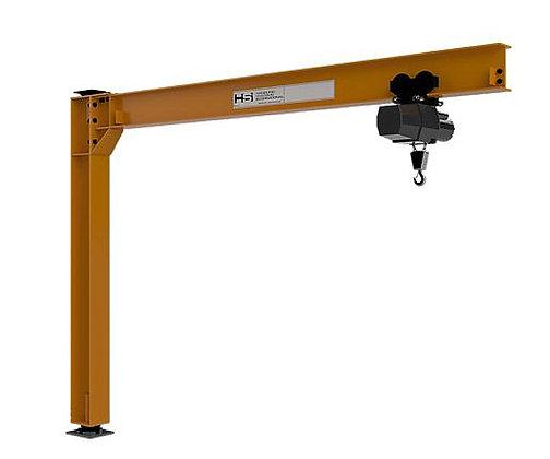 350F-2000-10-16 | 2000 lbs. Foundationless Jib Cranes