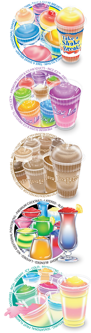 flavor burst frozen beverage machines options