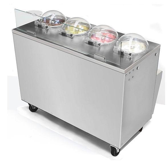 frigomat italian gelato machine commercial