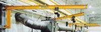 2,000 lb. Cantilever Wall Mounted Jib Crane 20' Span