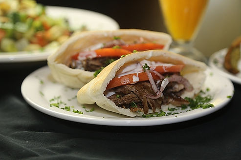 Gyros at the Nile in hyde park Chicago