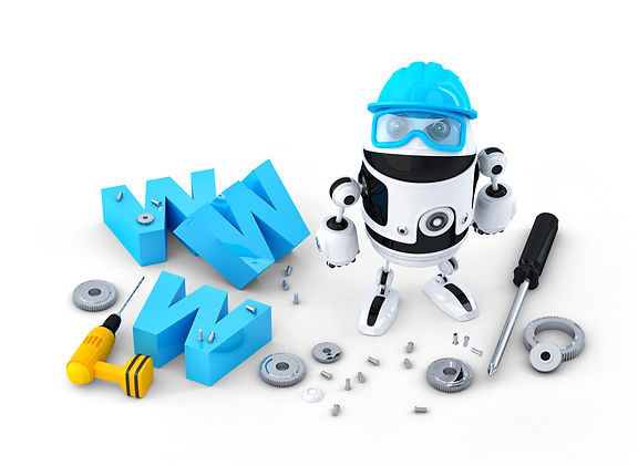 web-design-services-robot-with-www-sign-website