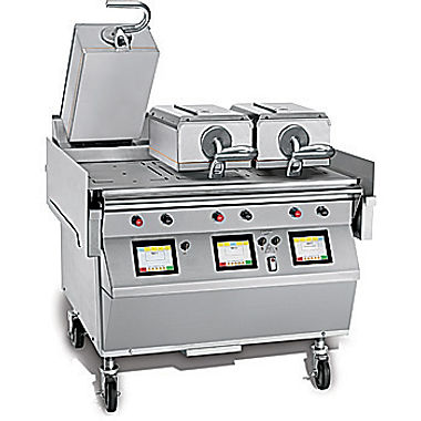 electric double sided grill