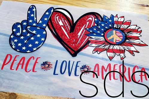 Peace Love America HTV Transfer