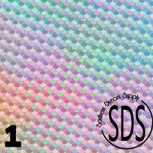 Mermaid Scales Pattern Vinyl