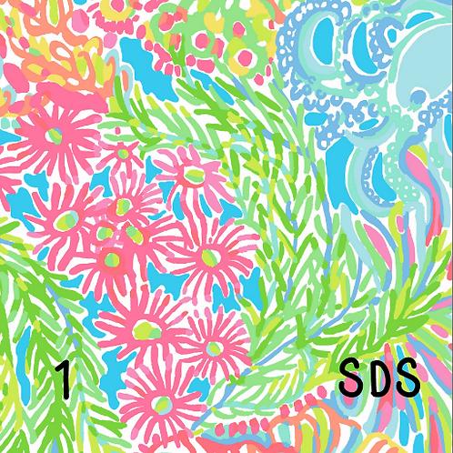 Lily Inspired Pattern Vinyl