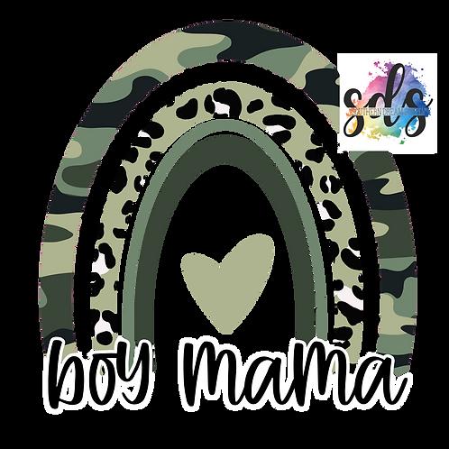 Boy Mama HTV Transfer