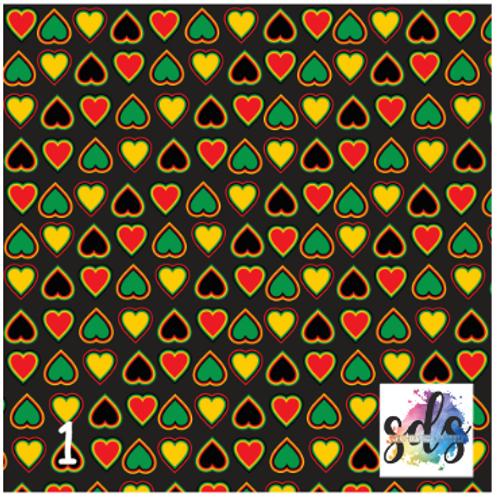 Reggae Pattern Vinyl