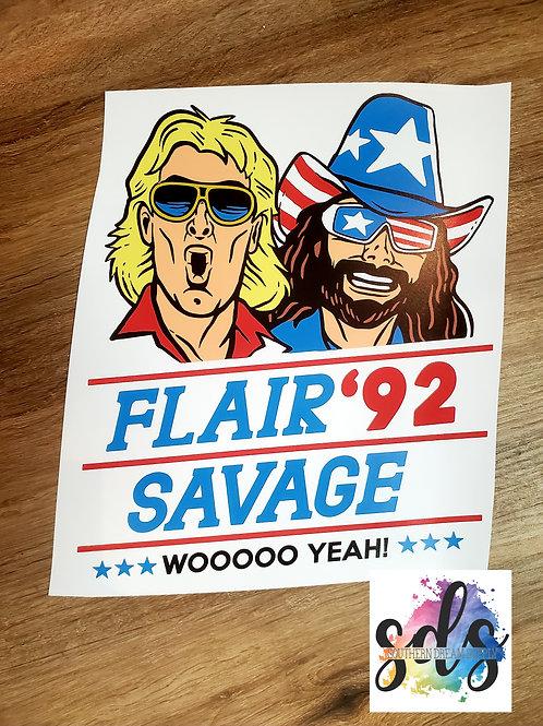 Flair '92 Savage HTV Transfer
