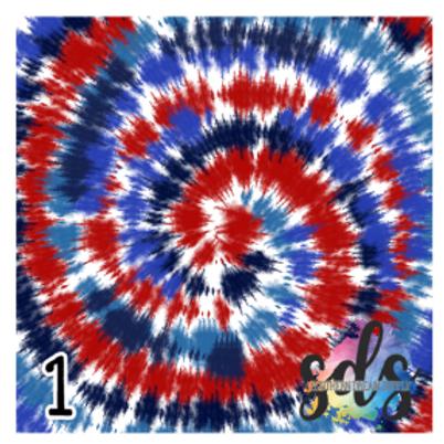 Patriotic Tie Dye
